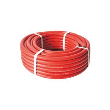 青岛国胜,国标光面三胶两线红色乙炔管,管径8mm,耐压3.5Mpa,30米/卷