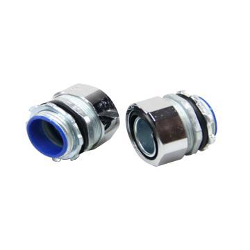 长虹 镀铬金属软管接头/外丝螺旋接头,DPJ-32