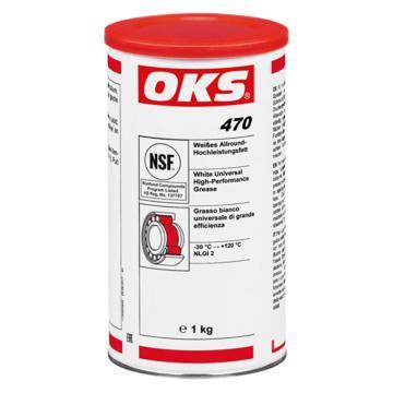 OKS 白色万能高性能润滑脂,OKS 470,1kg/罐*10/箱