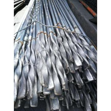 中富 圆钢麻花锚杆,托盘(150×150×10)、球垫、垫圈,MSGM-235/φ18×2200,煤安证MEF190411