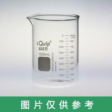 芯硅谷 玻璃烧杯,200ml,12个/盒