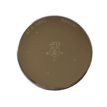 钻石 标准洛氏硬度块,40-50HRC φ60×φ10×10mm 环形,带中国计量科学研究院检定或校准证书