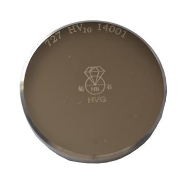 钻石 标准维氏硬度块,60×40×10mm,长方形,400-600HV50