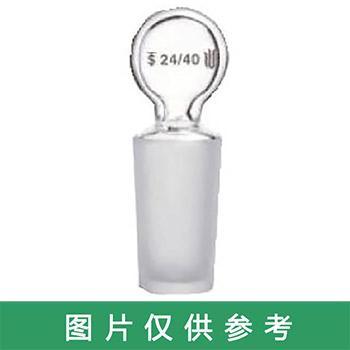SYSBERY,玻璃空心塞,24#,透明,高硼硅玻璃,10只/盒