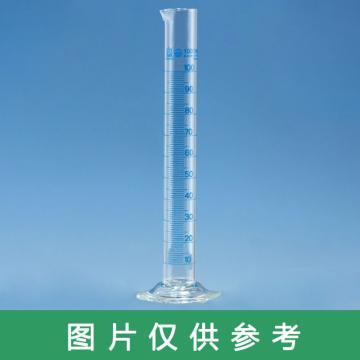 玻璃量筒,100:1ml,高型,BLAUBRAND®,A级,2个/包