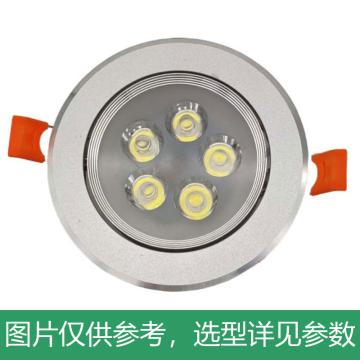 中跃 LED筒灯,3W,白光,ZY581-3W,灯具尺寸Φ85mm,开孔尺寸Φ70mm,单位:个