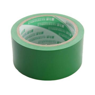 易旺贴 绿色警示胶带,48MM*22Y 绿色 ET-JSL-1 单卷