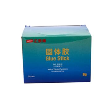 史泰博 pvp胶棒固体胶, 9g 9g 白色 单支 GS1001 单位:支