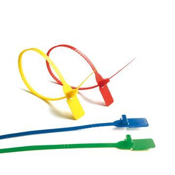 安赛瑞 定制塑料卡扣封条(1000根装)全长40cm(包),23483