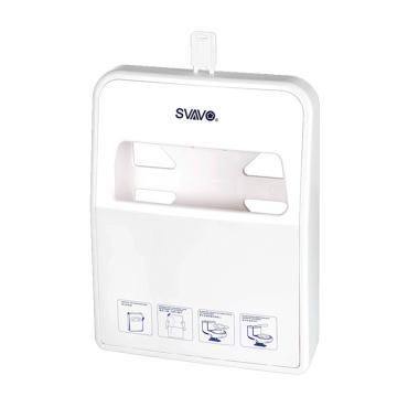 瑞沃 马桶坐垫纸架厕纸架,VX780 1/4壁挂式 白色 单位:个