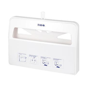 瑞沃 马桶坐垫纸架厕纸架,VX781 1/2壁挂式 白色 单位:个