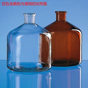 BRAND 试剂瓶,适用于自动回零滴定管,2000ml,透明,DURAN®,NS 29/32