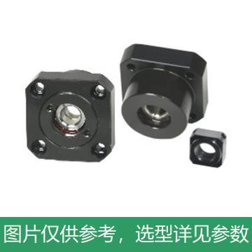 怡合达 圆法兰丝杠支座组件,标准型,固定侧,LEB03-10