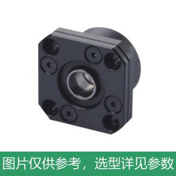 怡合达 圆法兰丝杠支座组件,精密型,固定侧,LEB01-4