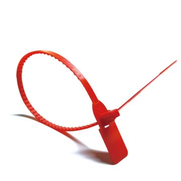 安赛瑞 塑料卡扣封条(100根装)红色,全长40cm(包),23479