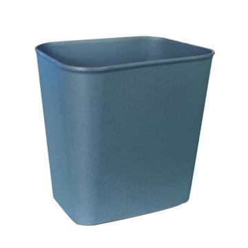白云 阻燃垃圾桶,14L AF07003A,27.5*21*31.5cm 灰色