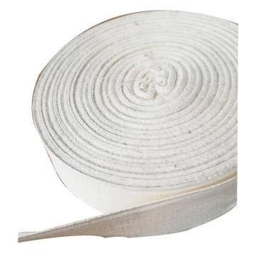 西域推荐 白布带(棉质),宽度25mm,25米/卷