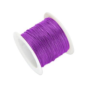 安赛瑞 12股金丝线,丝带,(宽×长):1mm×23m,紫色(5卷装,包),25123