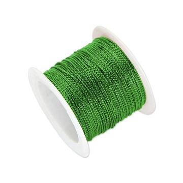 安赛瑞 12股金丝线,丝带,(宽×长):1mm×23m,绿色(5卷装,包),25121