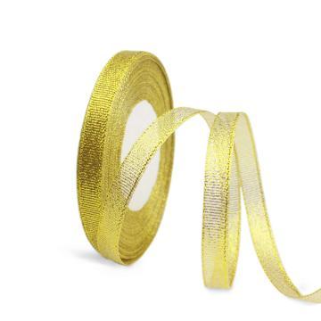 安赛瑞 金葱带,涤纶,(宽×长):1cm×22m,金色,(5卷装,包),25113