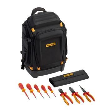 福祿克/FLUKE Pack30專業工具背包+絕緣手動工具入門工具包(5把絕緣螺絲刀和 把絕緣鉗子),IKPK7