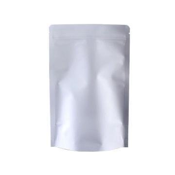 安赛瑞 铝箔自封自立袋,PE+纯铝材复合(长×宽×插底):9×13+3cm,双面厚度:0.22mm,(100个装/包)