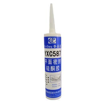 誉鑫昌 平面密封硅酮胶,YXC587,310ml/瓶