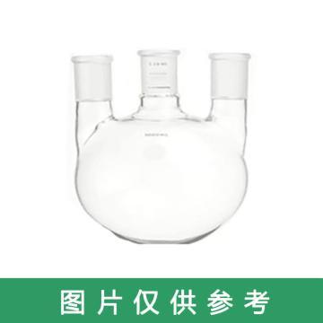 SYSBERY,三口烧瓶(直口),100ml/24*3 (容量/接口尺寸),直口,高硼硅玻璃,10只/盒