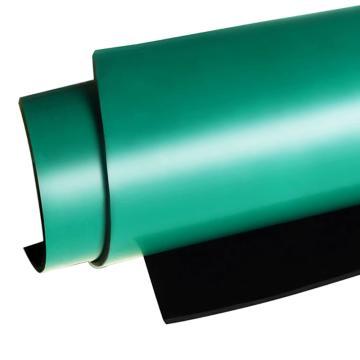 爱柯部落 舒伦防静电台垫,0.6m×10M×2mm,单位:片