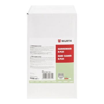 伍尔特WURTH 环保型磨砂洗手膏(补充装),3500ML/袋