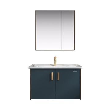 九牧 现代浴室柜深海蓝,A2402-119T-2