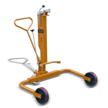 虎力 标准型液压油桶搬运车,额定载重量(kg):250支腿加宽型,DTW250