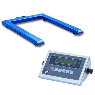 虎力 U型平台秤,额定称重量(kg):2000,最小称量(kg):20