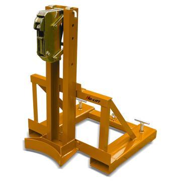 虎力 叼扣式叉车专用油桶搬运夹,360kg(单筒/钢桶),DG360A