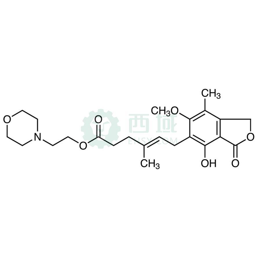 CAS:128794-94-5,吗替麦考酚酯,>98.0%(HPLC)(T),100MG