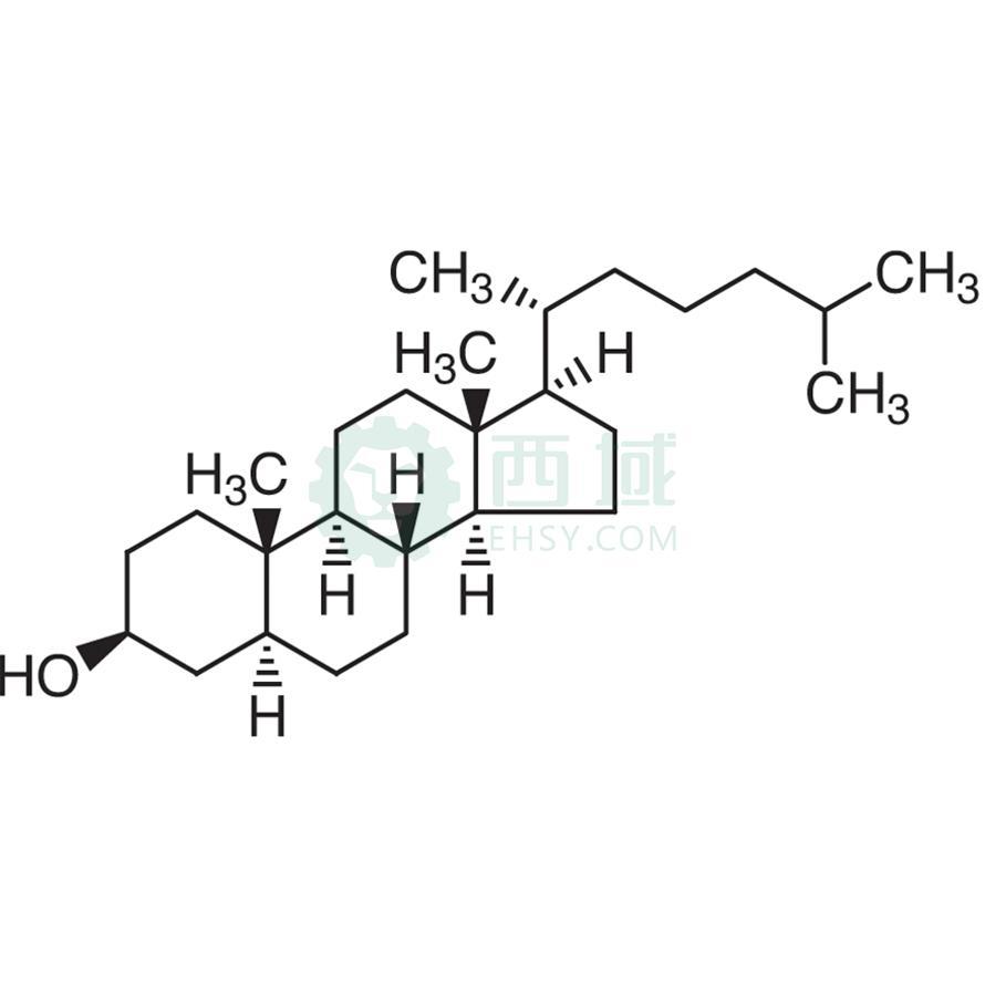 CAS:80-97-7,β-胆甾烷醇(含α-胆甾烷醇),25g,>92.0%