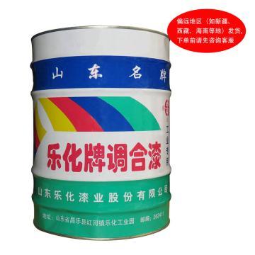 乐化 油漆,中绿色卡型号:L1-62,15Kg/桶