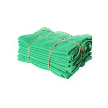 金冠 国标阻燃网密目网密目立网,1.5*6m,3kg,绿色