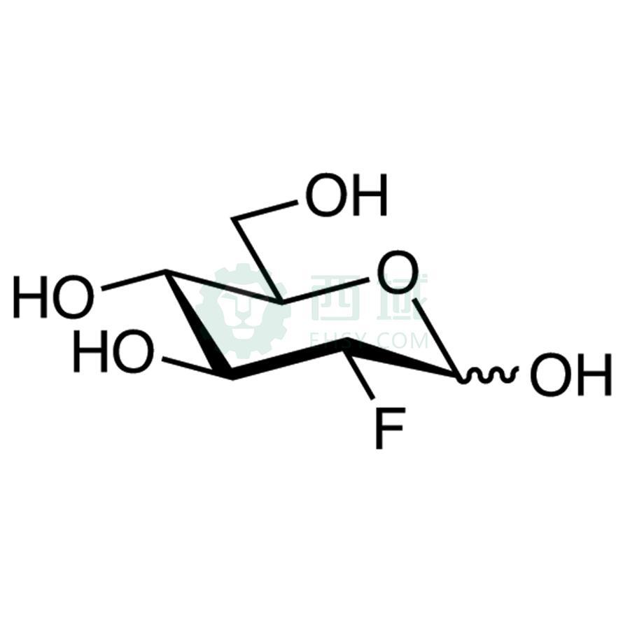 CAS:29702-43-0,2-脱氧-2-氟-D-吡喃葡萄糖,>98.0%(GC),100MG|冷冻