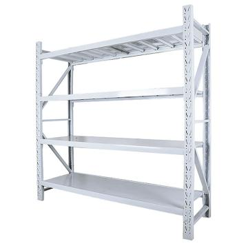 Raxwell 层板货架主架,4层,200kg,尺寸(长×宽×高mm):2000×500×2000,灰白色,安装费另询
