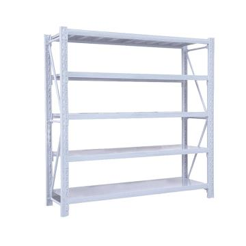 Raxwell 层板货架主架,5层,200kg,尺寸(长×宽×高mm):2000×500×2000,灰白色,安装费另询