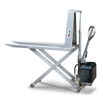虎力 不锈钢剪式手动升高液压搬运车,载重(T):1 货叉尺寸(mm):540*1165,HS540M