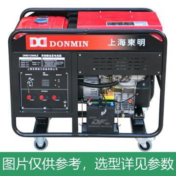上海东明 开架式单相柴油发电机组,10kW,DMD12000LE,电启动,含电瓶