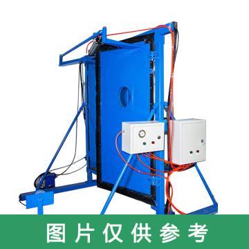 嘉宏 气动无压风门,4.0m×2.7m(净宽×净高),电气闭锁,2道/组