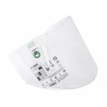 梅思安MSA 耐高温透明面屛(防雾防刮擦),10115844 ,5副/盒
