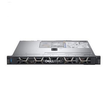 戴尔机架式服务器,R340 E-2224/16GB*2/256GB/600GB SAS/PERC H330+/Riser/550W/1U静轨/不含系统