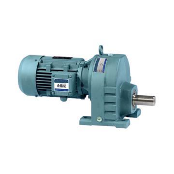 SEW R系列斜齿轮减速机,R67DRE100LC4,速比15.79,功率3kW