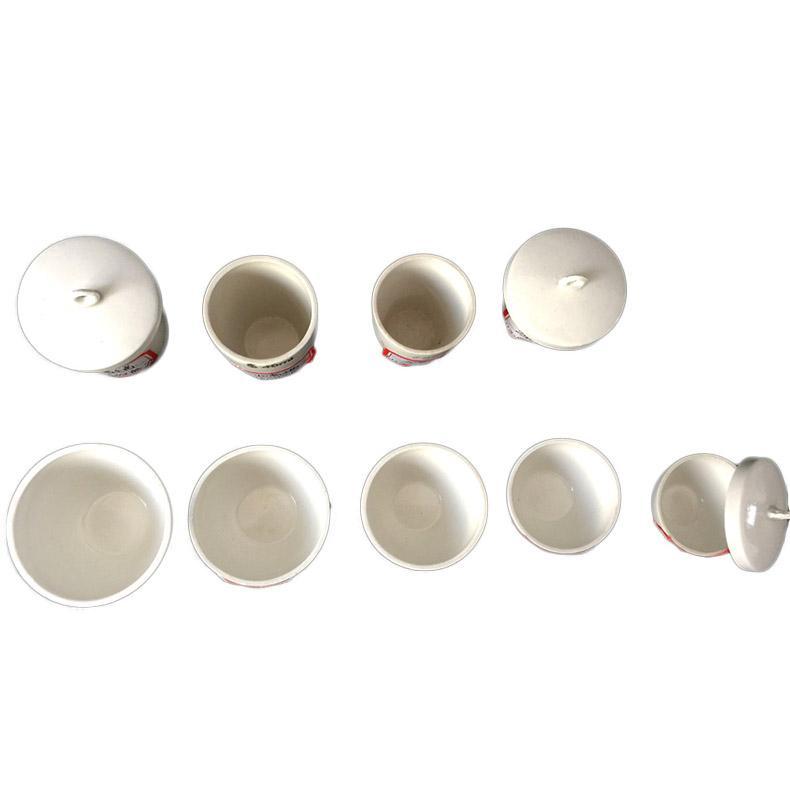 西域推荐 陶瓷坩埚 150ml 1套,含盖子,售完即止