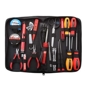 捷科JETECH 电子维修工具包,19件套,JEP-E19,180019