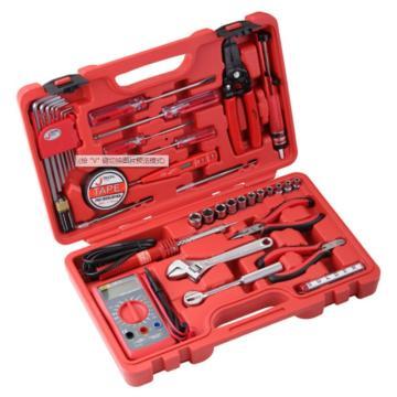 捷科JETECH 电子维修工具套装,35件套,JEB-E35,181035